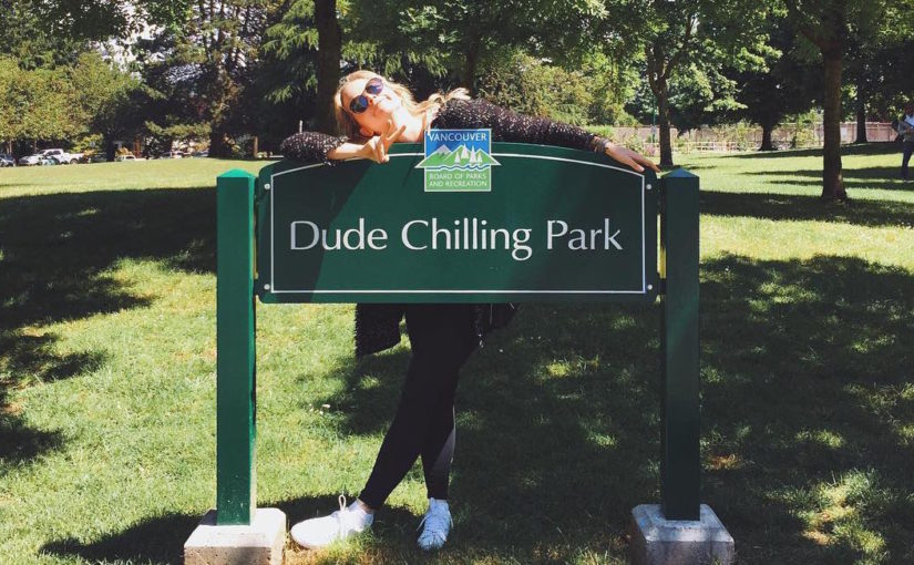 Ode to Dude Chilling Park