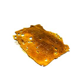 Blue Dream Shatter and Orange Crush Shatter