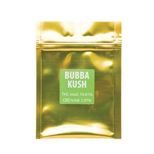 Green Gold Shatter Bubba Kush 2
