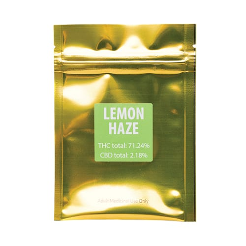 Green Gold Shatter Lemon-Haze