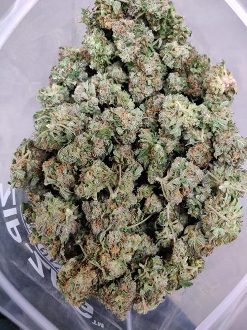 White Coma half pound bag picture