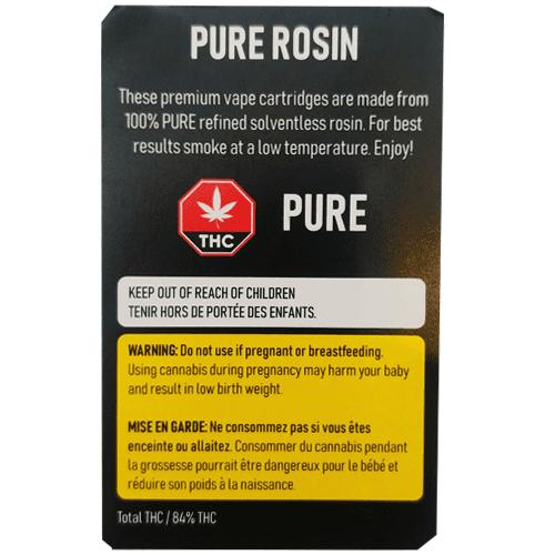 Recharge pour vaporisateur Lemon OG Kush Rosin