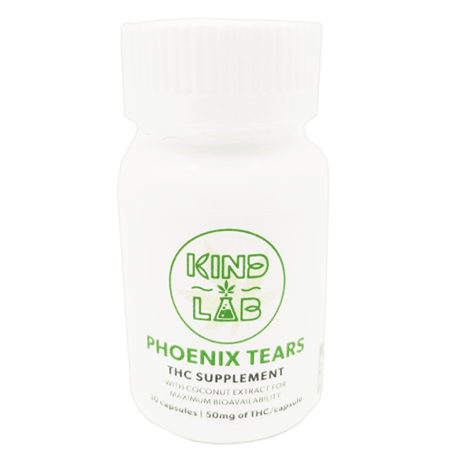 Buy 50mg THC Phoenix Tears Capsules | Kind Lab | WhitePalm