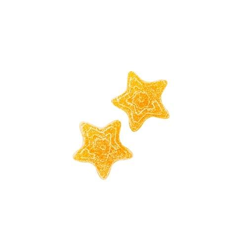 100mg THC Orange Grapefruit Gummy Stars picture