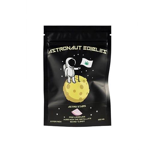 buy 100mg THC Pink Lemonade Gummy Stars online