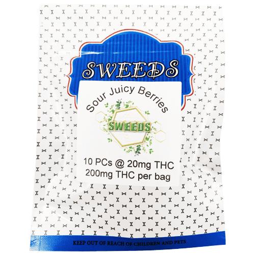 20mg THC Sour Juicy Berries