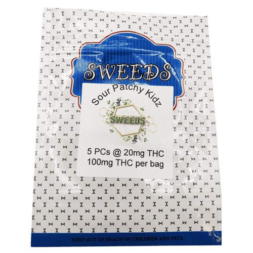 100mg THC Sour Kidz pack