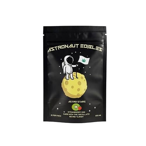 buy 100mg THC Strawberry Kiwi Gummy Stars online
