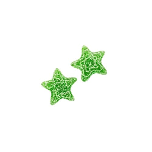 100mg THC Strawberry Kiwi Gummy Stars picture