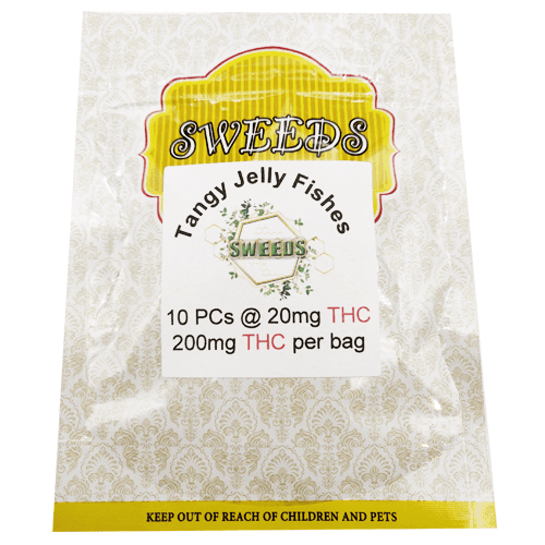 20mg THC Tangy Jelly Fishes online