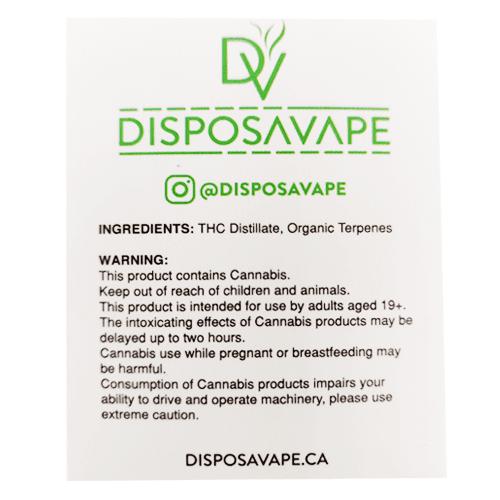 jack herer pod by disposavape