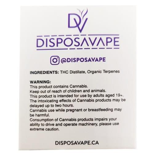 purple punch pod by disposavape