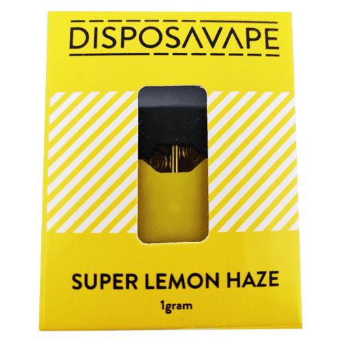Super Lemon Haze pod by disposavape