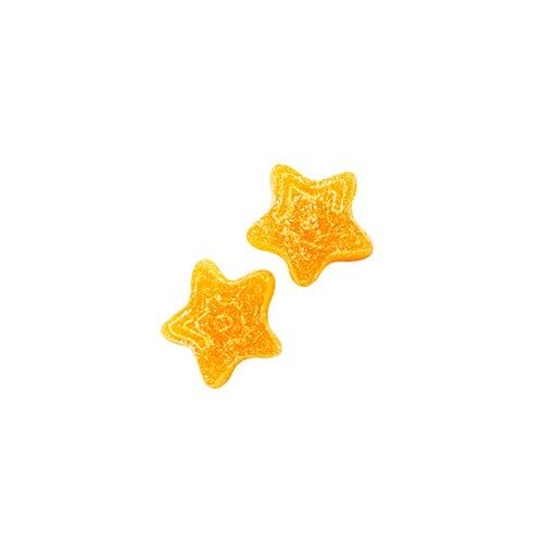 100mg THC Sour Peach Stars