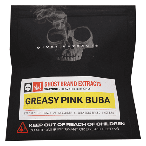 'Greasy' Pink Bubba Bubble Hash