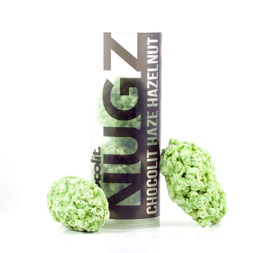 infused cannabis Chocolit nugz