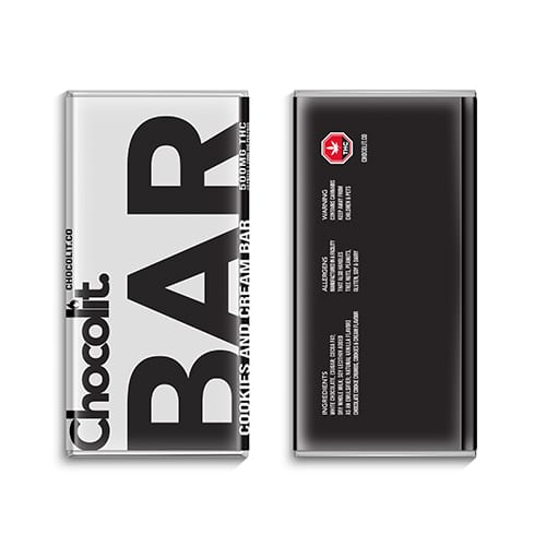 buy 500mg THC Cookies and Cream Bar online Canada