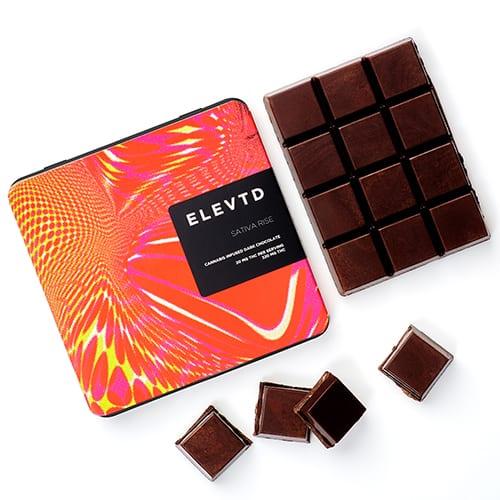 buy Sativa Rise Full Spectrum Chocolate online
