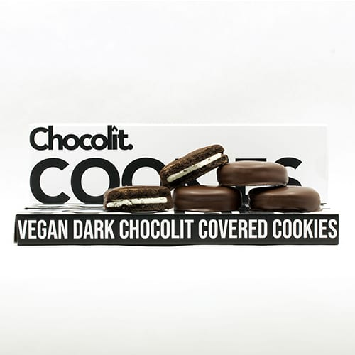 buy 200mg THC Dark Chocolate Vegan Cookies online