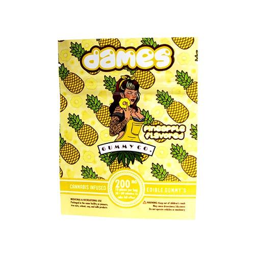 buy 200mg THC Pineapple Gummies online