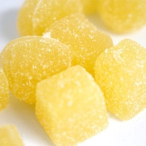 200mg THC Pineapple Gummies picture