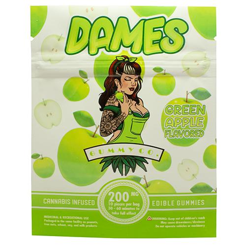 buy 200mg THC Green Apple Gummies online Canada