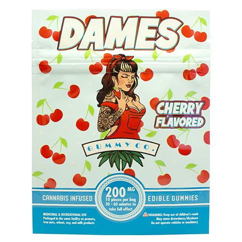 buy 200mg THC Cherry Gummies online Canada