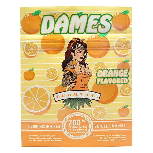 buy 200mg THC Orange Gummies online Canada