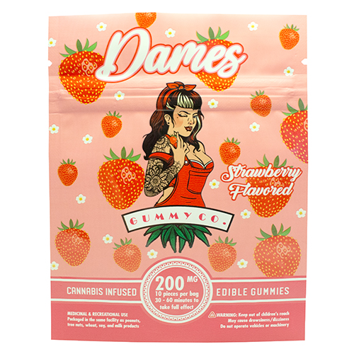 buy 200mg THC Strawberry Gummies online