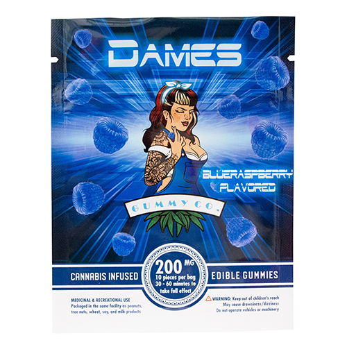 buy 200mg THC Blue Raspberry Gummies online Canada
