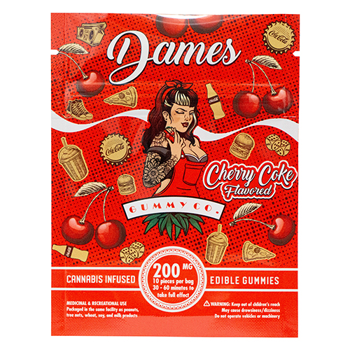 buy 200mg THC Cherry Cola Gummies online Canada