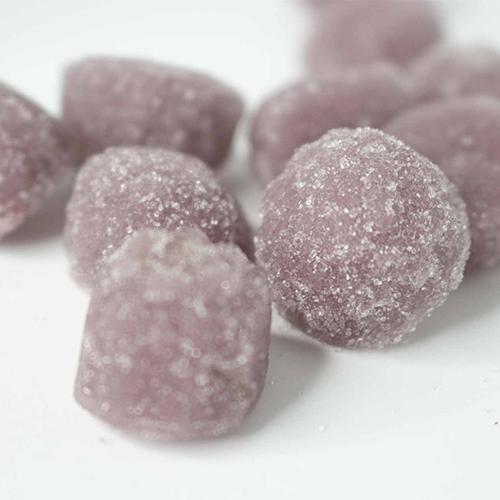 Dames 200mg THC Grape Gummies