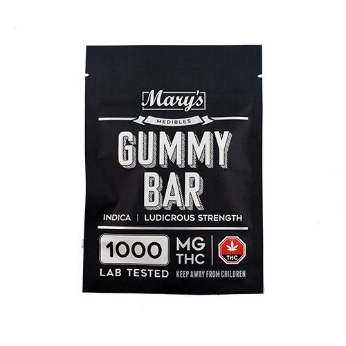buy Indica 1000mg THC Gummy Bar online Canada