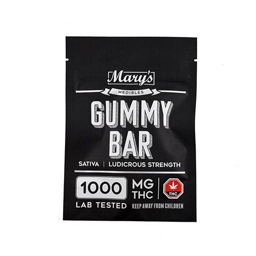 buy Sativa 1000mg THC Gummy Bar online Canada