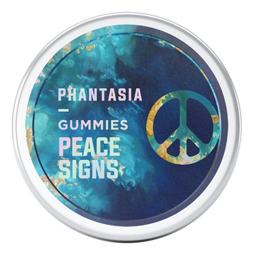 Phantasia 400mg Psilocybin Peace Signs (2000mg)